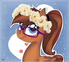 Vernzo's Flower Crown ((CM)) by Drawing-Heart