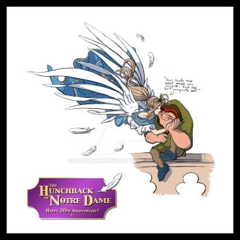 Disney's Hunchback - Happy 20th Anniversary! by DoomyMouse