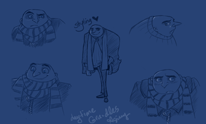 Even More Gru-dles by the19thGinny