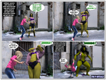 The Savage She-Hulk in 'Beastial Affair' TF PG 2 by mercblue22