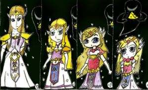 Zelda Age Regression by LHS-Princess