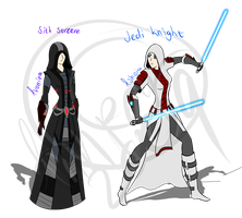 Star Wars Characters by Annpar2009