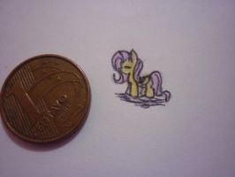 Mini Fluttershy by lizethehedgehog