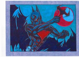 BATMAN BEYOND by Hyborian222