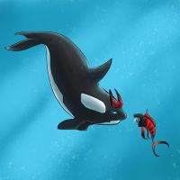Orca Prowl vs. Tuna Sideswipe by The-Starhorse
