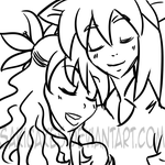 .::Request::. Savy and Jessy by SakiCakes
