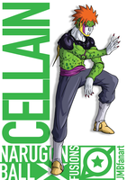 Cellain (Cell and Pain fusion) by JMBfanart