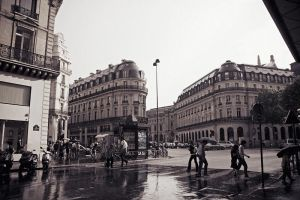 rain in Paris 3 by Lucem