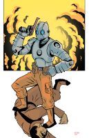 Atomic Robo by delurio