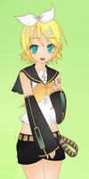 Kagamine Rin by HeavenlyMemories