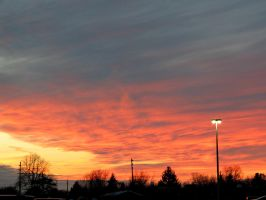 February 25th Sunset #2 by Michies-Photographyy