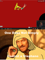 One Does Not Simply by Vdangers