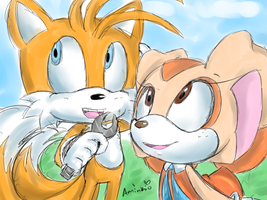 Tails and Cream by eokoi