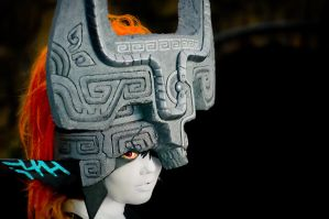 Midna cosplay by TennyoTwili