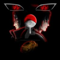 the uchiha clan by fullmetalschoettle