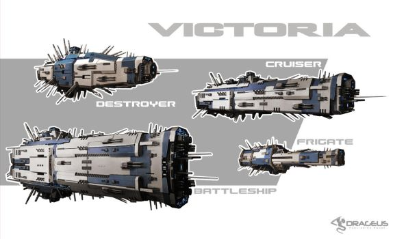 Victoria Spaceships by ortheza