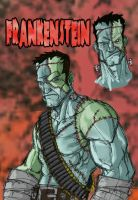 FRANKENSTEIN by CaseyD2K