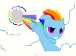 The Sonic Rainboom by polina161