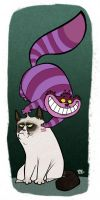 Cheshire and Grumpy by edgar1975