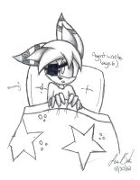 Agent White .:Age 6:. -sketch- by laurenbaker0508
