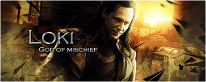 Loki - God of Mischief by KaiserNazrin