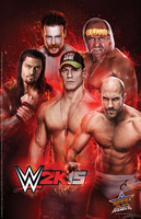 WWE 2K15 Summer Slam Poster by ThexRealxBanks