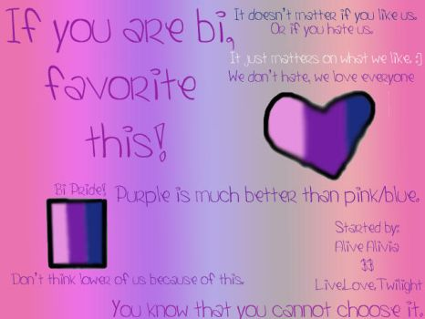 Bisexual by Alive-Alivia