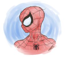 clear spidey by AngelJ7
