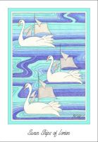 Swan Ships of Lorien by elegaer