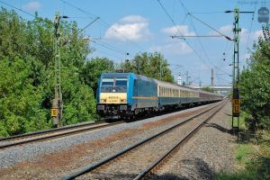 480 016 with a special train in Gyor by morpheus880223