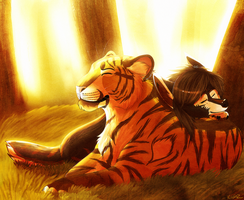Warmth -SPEEDPAINT- by kwinzilla