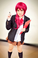 Matsuoka Gou cosplay by GreenTea-Ice