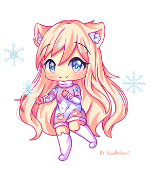 Commission - Snowflakes! by DoodleBunni