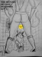 The Return of Lady Deadpool Act 2 cover by Deadfish-Comics