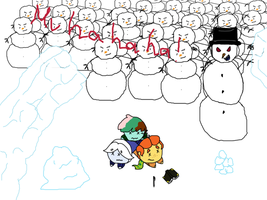 Snowman by Ask-Snow-Prince