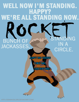 Rocket Racoon, the best Racoon by DemianDillers