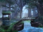 Wishing Well Forest by lynneabrunner
