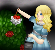 Alice in Wonderland by LittlePanda3