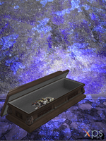 coffin with guns inside (original game bones) by MindForcet