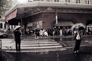 rain in Paris 4 by Lucem