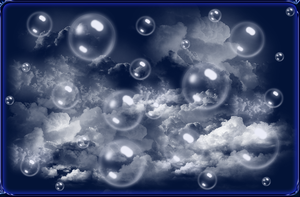 Bubbles in the Clouds by WDWParksGal-Stock