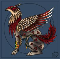 Random gryffin by Gerie-Aren
