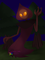 Misc: Flatwoods Monster by PuppyLuver