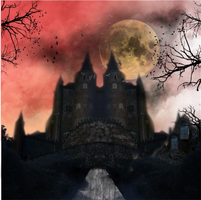 Dracula's castle by LeticiaEvans
