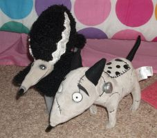 Frankenweenie plush by queenashley455