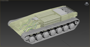 W.I.P. T-68 (tank layout) by Yaskolkov