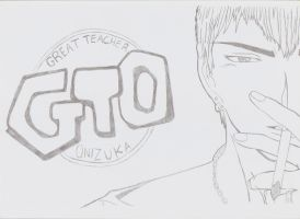 Eikichi Onizuka - GTO ( Great Teacher Onizuka ) by SamuraiLegends