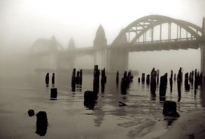 Bridge In Mist by RichSilfver