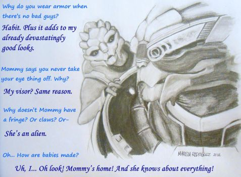Questions With Garrus by BldyScarlet