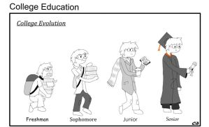 College Evolution by Anime0Master